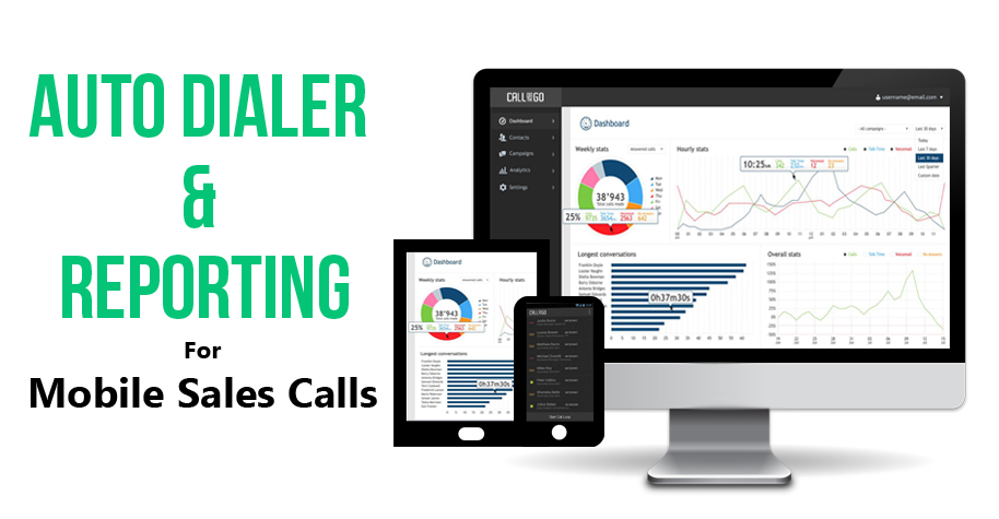 Auto Dialer Software App on Mobile